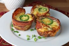 Jalapeno Popper Egg Cups Shared on https://www.facebook.com/LowCarbZen | #LowCarb #Breakfast #Snack #Spicy