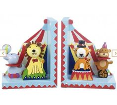 Vintage Circus Bookends – BANINO'S BOUTIQUE