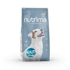 Nutrima Health Dental -koiranruoka. Holistinen ja funktionaalinen täysravinto sopii erityisen hyvin koirille, jotka kärsivät yleisistä suun ongelmista. Dental, Cover, Health, Dogs, Health Care, Dentistry, Teeth, Healthy, Pet Dogs