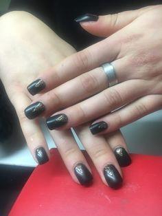 #nails #fashion #nailart #black