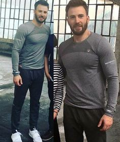 Chris Evans — New Photos from the new FILA Photoshoot .  ...