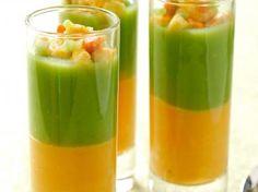 Pompoen-broccoli borrelsoepje
