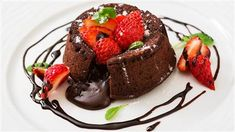 Try a decadent Brazilian-style molten chocolate cake filled with fudge