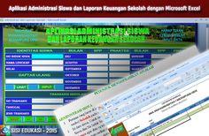 [.xls otomatis] Aplikasi Administrasi Siswa Dilengkapi Laporan Keuangan Sekolah Menggunakan Microsoft Excel