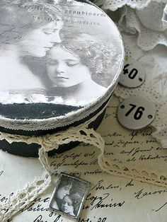 Shabby Chic Inspired: a mother`s love