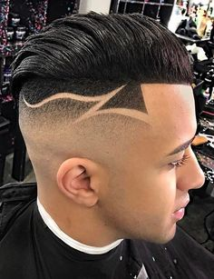 Black Boys Haircuts, Haircuts For Men, Haircut Designs For Men, Men Hair Color, Faded Hair, Fade Designs, Bald Fade, Freestyle, Hair 2018