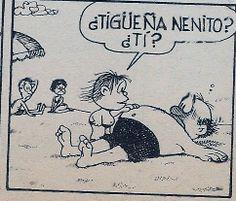 """""""Tigueña"""" de Guille."""