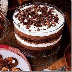 Postre de chocolate para Navidad 2015 turron de chocolate