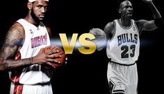 LeBron vs. Jordan: A Non-Basketball Study