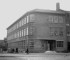 Groene Hilledijk Politie Sandelingenplein 1948 Rotterdam, Multi Story Building, Street View, History