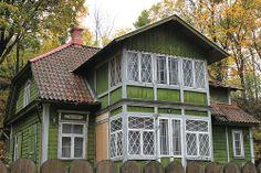 house in Tallinn, via Via Tahoe Vista, Scandinavian Home, Little Houses, Home Fashion, Old Houses, Building A House, Exterior, Cabin, Architecture