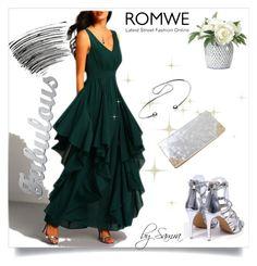 """""""ROMWE 3/IV"""" by samra-dzabija ❤ liked on Polyvore featuring Bobbi Brown Cosmetics and NDI"""