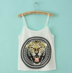 Lion Crop top – SEKclothing
