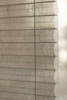 Natural fabrics and textures to compliment your personal style. Duette® Shades.  #energy saving #home decor # #Duette #luxaflex