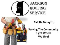 Checkout Jackson Roofing Service Call 601-368-8484  Jackson Roofing Service | Call (601) 368-8484 | http://jackson.roofingrepair-service.com Call (601) 368-8484 Jackson Roofing Service for your estimate. We can do any type of roofing services from new roof installation metal roofs roofing repair tile shingle or flat roof gutter installs.      We meet all your roofing needs at Jackson Roofing Services in Jackson MS. Jackson Roofing Service will make sure that you have an awesome roofing…