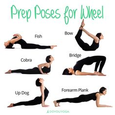 Practice these poses to find your way into Wheel Pose!