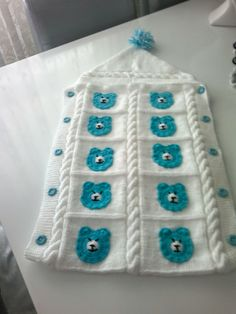 Baby Blanket Crochet, Crochet Baby, Knit Crochet, Baby Patterns, Crochet Patterns, Knitting Designs, Baby Knitting, Daisy, Preemies
