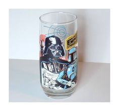 1980 Star Wars Burger King Glass Darth Vader by TimeEnoughAtLast