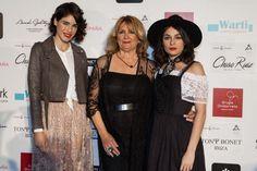 Maialen de Arroiabe, Charo Ruiz y Andrea Dueso en Pasarela Costura España - Kissing room
