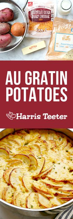 Round Out A Date Night Dinner With Classic Potatoes Au Gratin This Steakhouse Favorite Is Romantic Dinner For Twoa