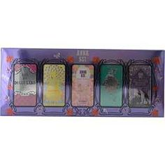 ANNA SUI VARIETY by Anna Sui - 5 PIECE MINI VARIETY WITH DOLLY GIRL & FLIGHT OF FANCY & FAIRY DANCE & SECRET WISH & FORBIDDEN AFFAIR AND ALL ARE .13 OZ MINIS