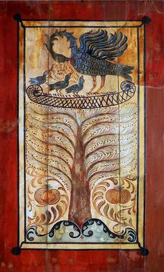 Tree of life / életfa - Noszvaj - Hungary Tree Of Life, Ancient History, Hungary, Folk Art, Painting, Decor, Decoration, Popular Art, Painting Art