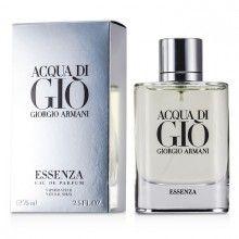 Acqua Di Gio Essenza by Giorgio Armani Eau De Parfum Spray Giorgio Armani Beauty, Shops, Clary Sage, Parfum Spray, Lip Colors, Perfume Bottles, Fragrance, Make Up, Beauty Products