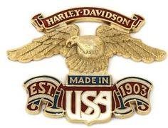 Harley-OEM-XL-FXR-Softail-FLH-Dyna-Shovelhead-AMF-Sissy-Bar-Emblem-Badge-Eagle