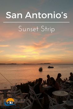 One of the hottest places to check out in Ibiza is the Sunset Strip in San Antonio, full of chill out bars, has the beach & the best place to check out sunsets