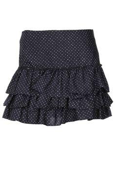 Jupes Mini-jupe IKKS - couleur NOIR - matiere Polyester