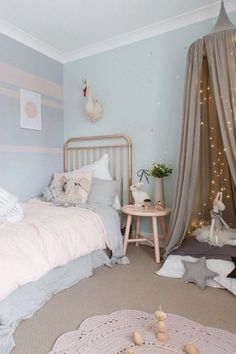 This is a Bedroom Interior Design Ideas. House is a private bedroom and is usually hidden from our guests. Much of our bedroom … Girls Bedroom, Bedroom Decor, Bedroom Ideas, Trendy Bedroom, Girls Canopy, Girls Room Paint, Master Bedroom, Cosy Bedroom, Bedroom Lighting