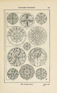 A handbook of ornament enclosed ornament the circular panel pg 259