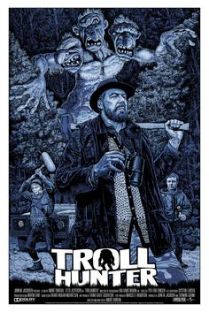 """Troll Hunter"" by Chris Weston  (A story about a true Norwegian hero.)"