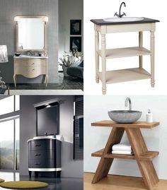 Che stile scegliere in #bagno con 90 cm a disposizione? Provenzale - Country Chic - Stiloso - Moderno?