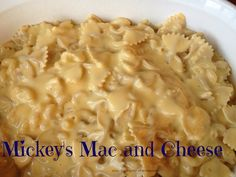 Mickey's Mac and Cheese-Disney Recipe