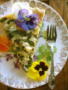 Farm House Spinach Quiche