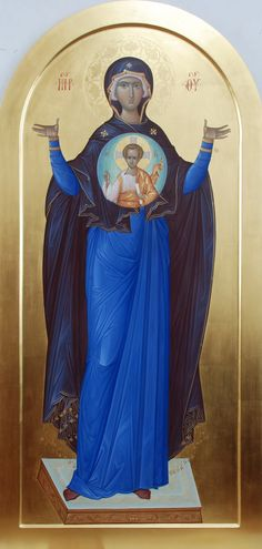 Александр Деркачёв Byzantine Icons, Byzantine Art, Divine Mother, Mother Mary, Writing Icon, Queen Of Heaven, Blessed Virgin Mary, Orthodox Icons, Blessed Mother