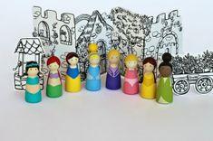 Zelf maken: Speelfiguren; prinsessen, ridders, superhelden, …