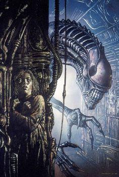 John Bolton Aliens: Newt's Tale #2, July 1992 - John Bolton