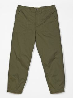 Universal Works Fatigue Pant in Olive Twill | Universal Works