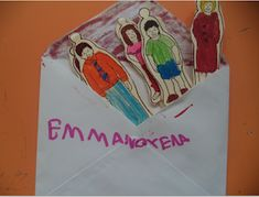 ...Το Νηπιαγωγείο μ' αρέσει πιο πολύ.: Η οικογένειά μου και το σπίτι μου σε ένα φάκελο!!! Τα πατρόν. Home And Family, Blog, Blogging