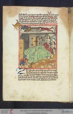 Cod. Pal. germ. 85: Antonius von Pforr: Buch der Beispiele (Schwaben, um 1480/1490), Fol 11v