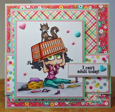 Marilyn's Cards and More: DAY ONE - SNEAK PEEKS WITH KRAFTIN' KIMMIE STAMPS!