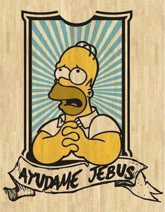 Homero Simpsons Art, Simpsons Quotes, Futurama, Cultura Pop, Bart Simpson, Jean Paul Gaultier, Pop Art, Graffiti, Street Art