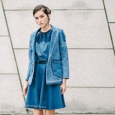 Noorism re-claims vintage denim Jeans by taking them apart and remaking them into new, contemporary, womenswear and accessories. A brand that is really making a difference. Hats off to these guys
