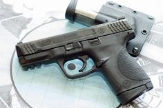Second Pistol I own. Smith & Wesson MP .45 <3 True Cop pistol. The trigger on this is amazing!!! Love it