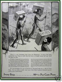 1910 Philippines natives Ivory Soap Henry Anderson AD
