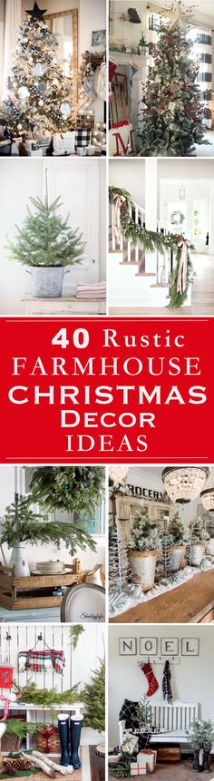 Rustic Christmas dec