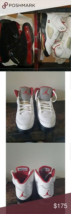 Nike Retro Air Jordans set Selling a set of big boy size Nike Air Jordans #5 Nike Air Jordans #18 Nike Shoes Sneakers