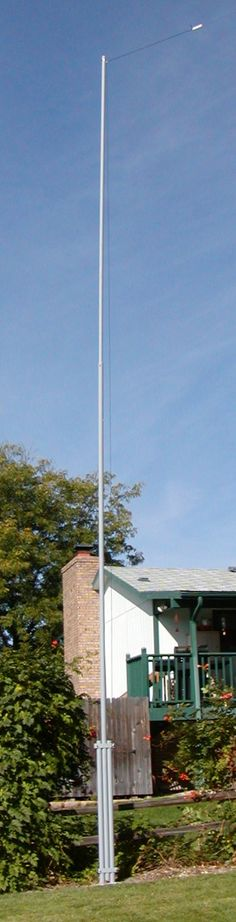 """WV7U Tilt-Over Antenna Mast  """"There are 2 of these on our 2 acres back in NC"""""""
